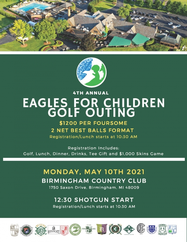 4th Annual Eagles for Children® Golf Outing